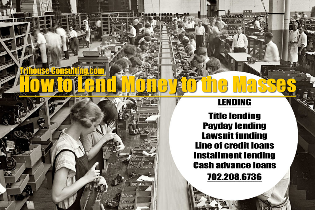 The Business of Lending Money to the Masses